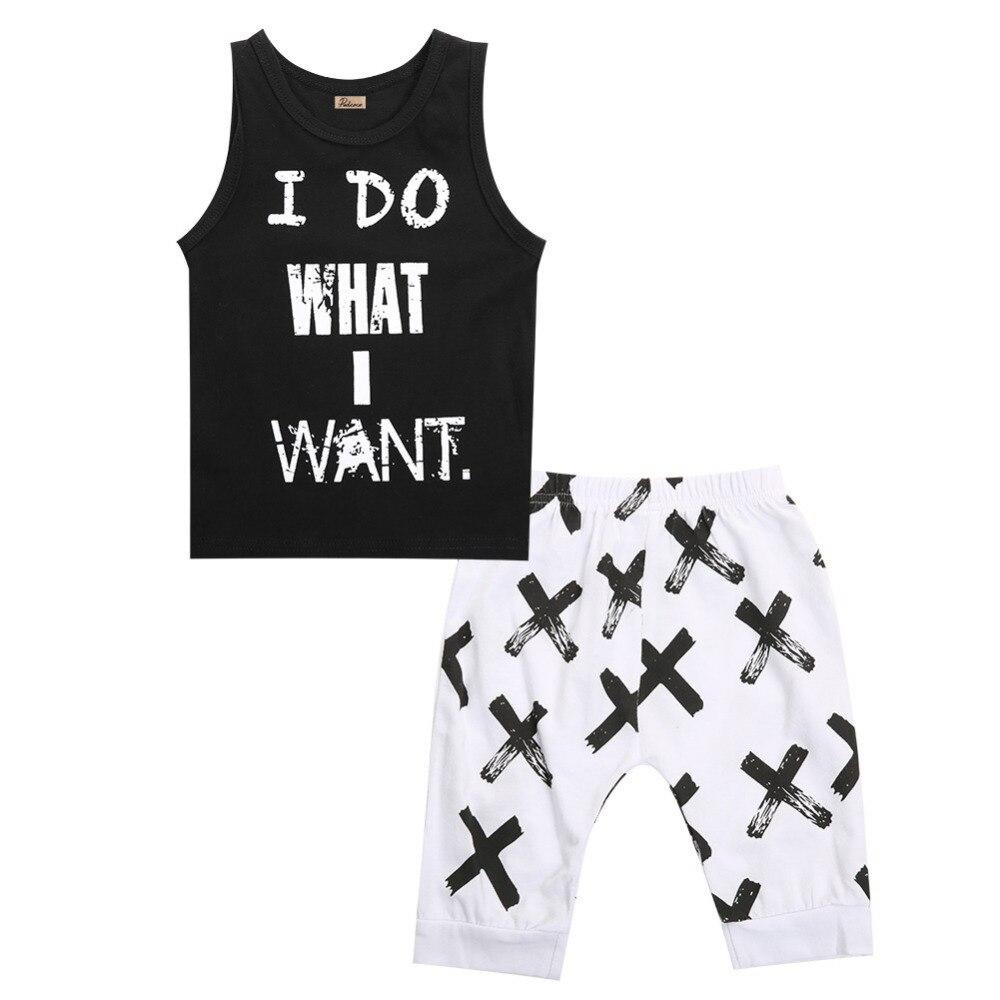 Лето 2017 г. Одежда для мальчиков новый комплект одежды для маленьких мальчиков рисунок в виде надписи одежда для маленьких мальчиков в клетку детская одежда Костюмы комплект