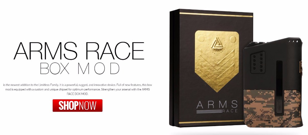 Limitless Arms Race Box Mod