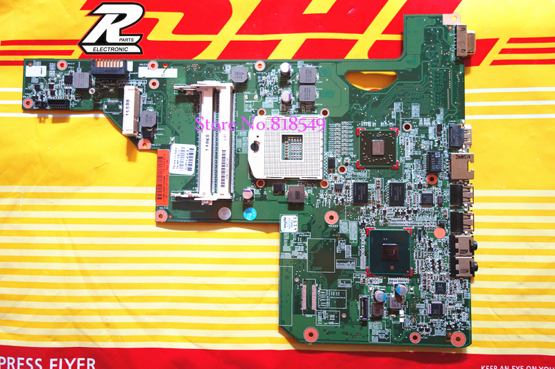 G62 G72 Netebook Motherboard For hp 615381-001 512M HM55 system Mainboard good package