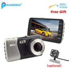 PRAMIRO Original FHD 1080 P Dash Cam cámara de doble lente Novatek96658 T810plus 170 Grados con función WDR cámaras del coche de vídeo grabadora