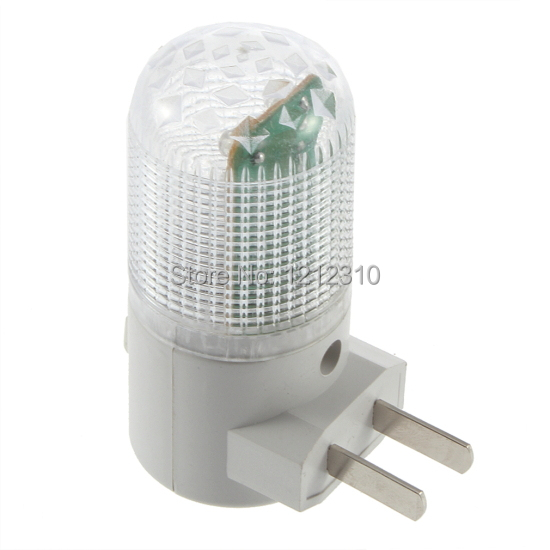 6led socket lamp small night light with switch led small night light 1w energy saving lamp bed-lighting baby lamp