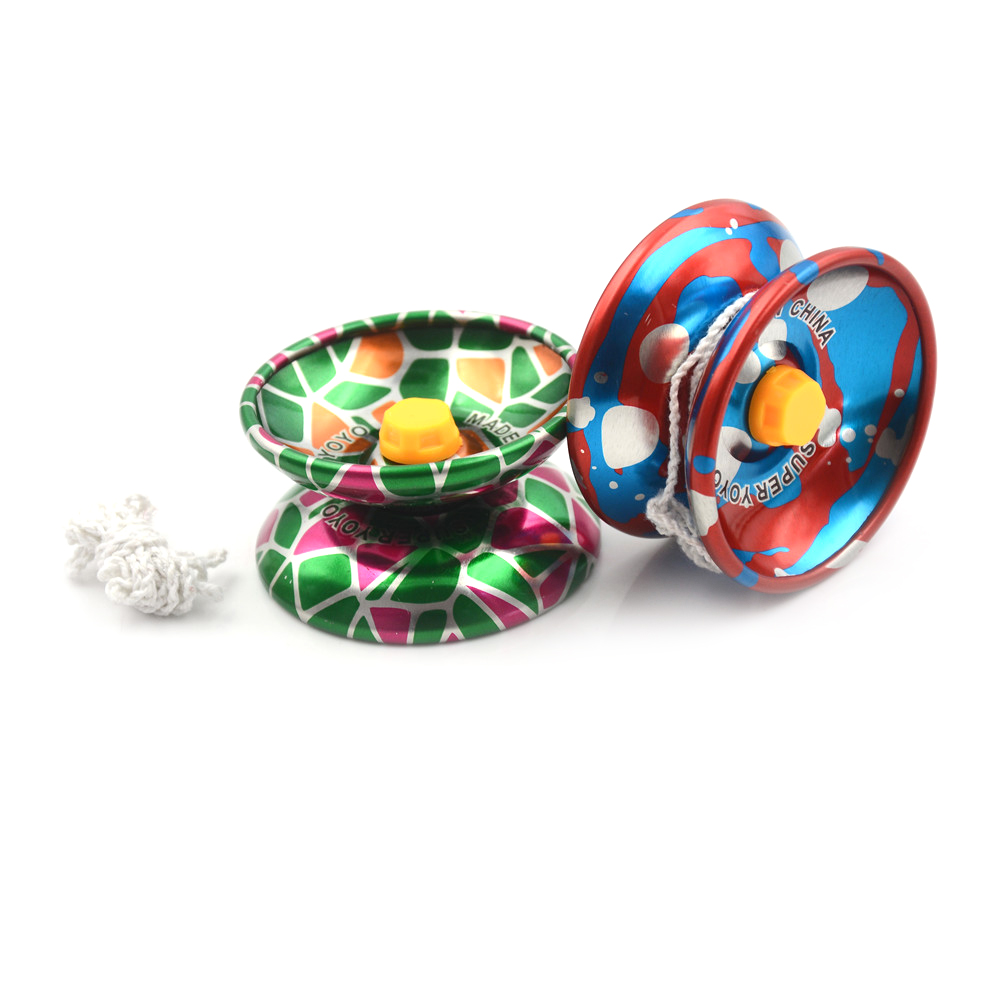 Hot Metal Alloy YOYO High Speed With Finger Cover Quality Sport Game Toys Childaren Kids Professional Playing Toy