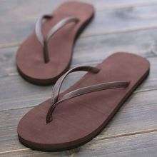 A couple of anti-skid flip flops summer shoes slippers sandals a drag clip