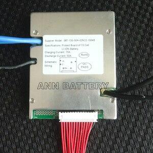 Image 2 - Li ion cellule 13S 48V 50A BMS pour 48V 30Ah 40Ah 50Ah lithium ion batterie courant de travail 50A 1500W 2000W avec fonction déquilibre