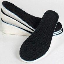 Лучший!  Высота стельки для ног мужчины женщины ева подушка толстая стелька увеличение высоты в обуви 1 5 см
