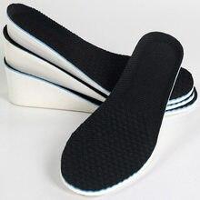 Hauteur semelles pour pieds hommes femmes eva coussin épais hauteur augmenter semelle intérieure dans les chaussures 1.5cm 2.5cm 3.5cm AVBXCV