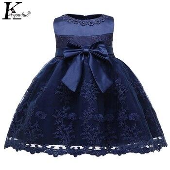 1f961300609 Vestido de bebé niña nueva princesa vestidos de ropa de bebé niña Tutu  Primer 1 año Vestido de fiesta de cumpleaños, Vestido bebé de Navidad  vestido
