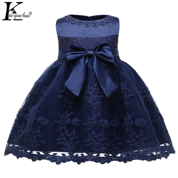 63ece8e2d Vestido del bebé nueva princesa vestidos para niña ropa Tutu primera 1 año  fiesta de cumpleaños Vestido infantil de Navidad vestido