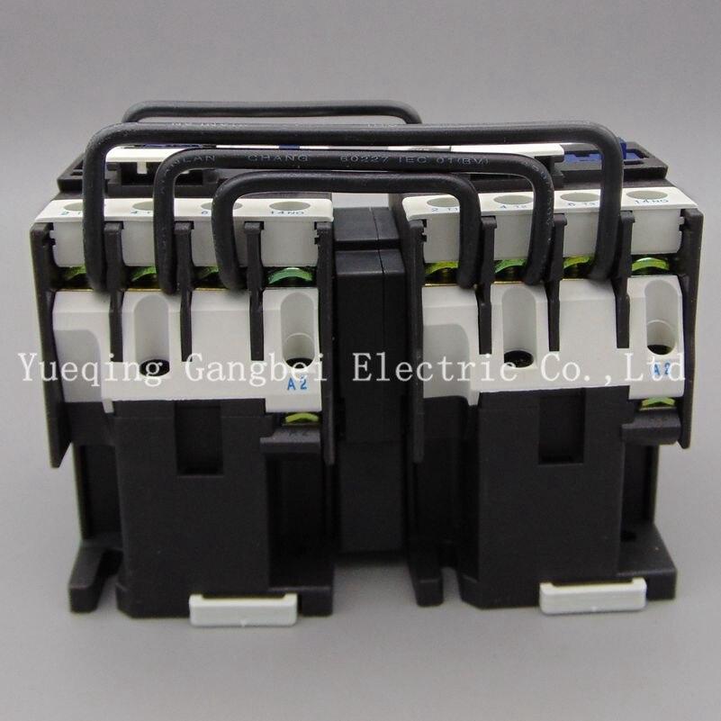 CJX2-1810N reversing contactor mechanical interlocking contactor voltage 380V 220V 110V 36V 24V