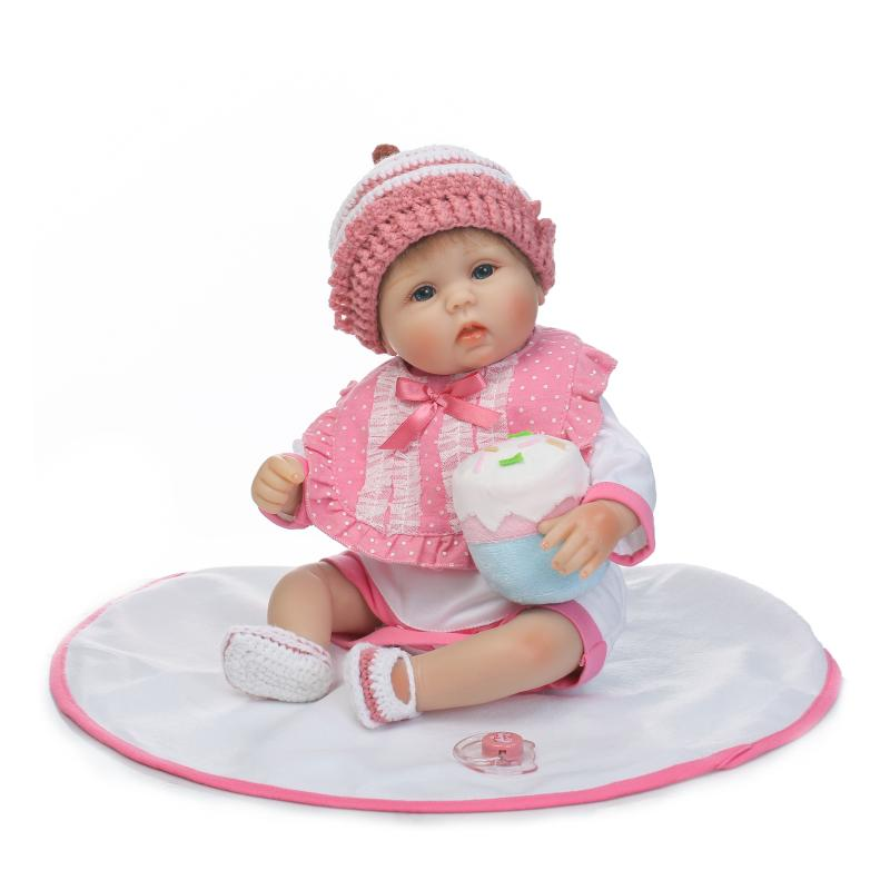 reborn babies realistic silicone reborn dolls 16 inch 40 cm new arrival lifelike baby reborn toys for kid s birthday gift Bebe Reborn Babies Realistic Silicone Reborn Dolls, 16 Inch/42 cm Lifelike Baby Reborn Toys for Kid's Birthday Gift New Arrival