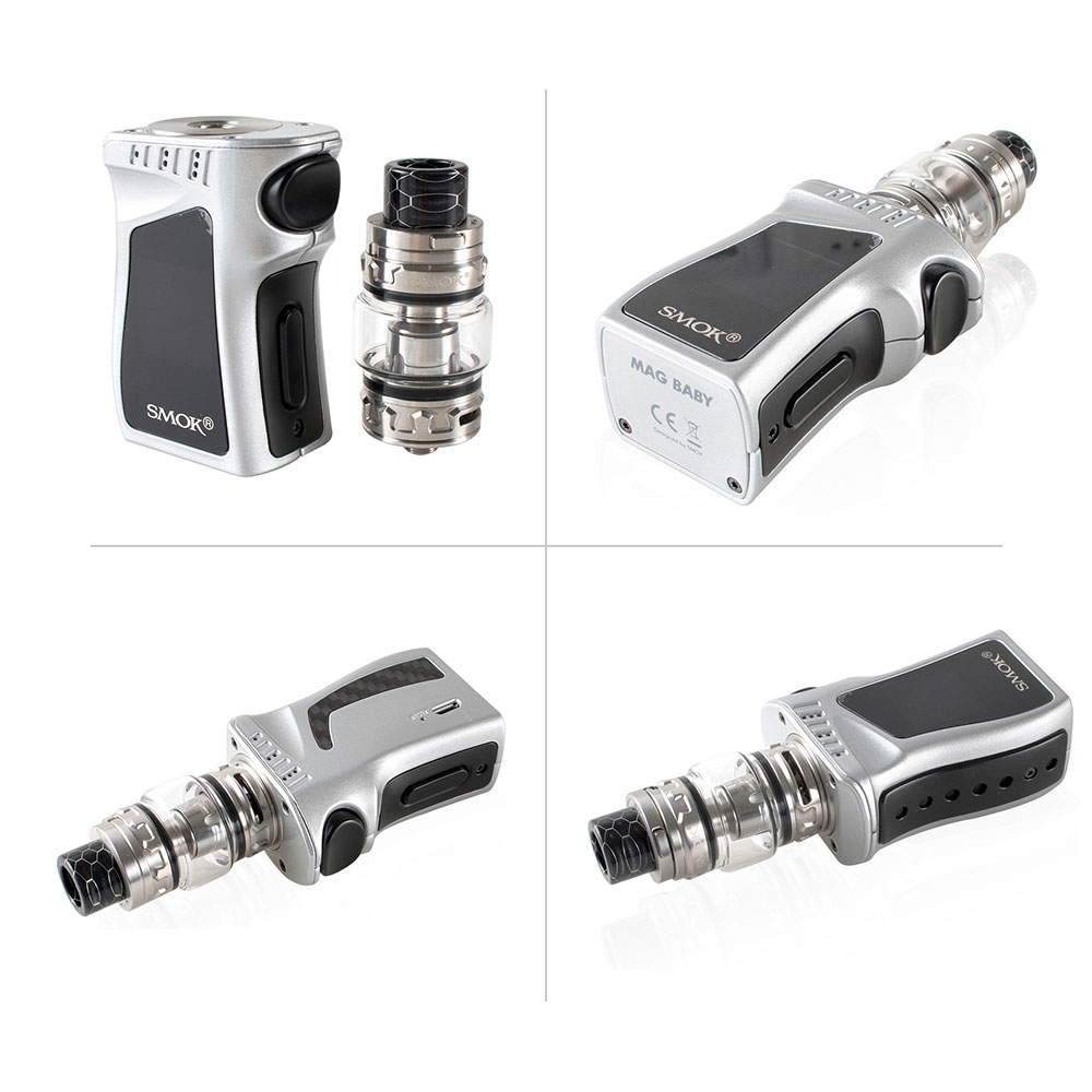 Original SMOK MAG Baby Kit with built in 1600mAh battery+V12 Baby Prince Tank 4.5ml+Coils Electronic cigarette smok mag baby kit