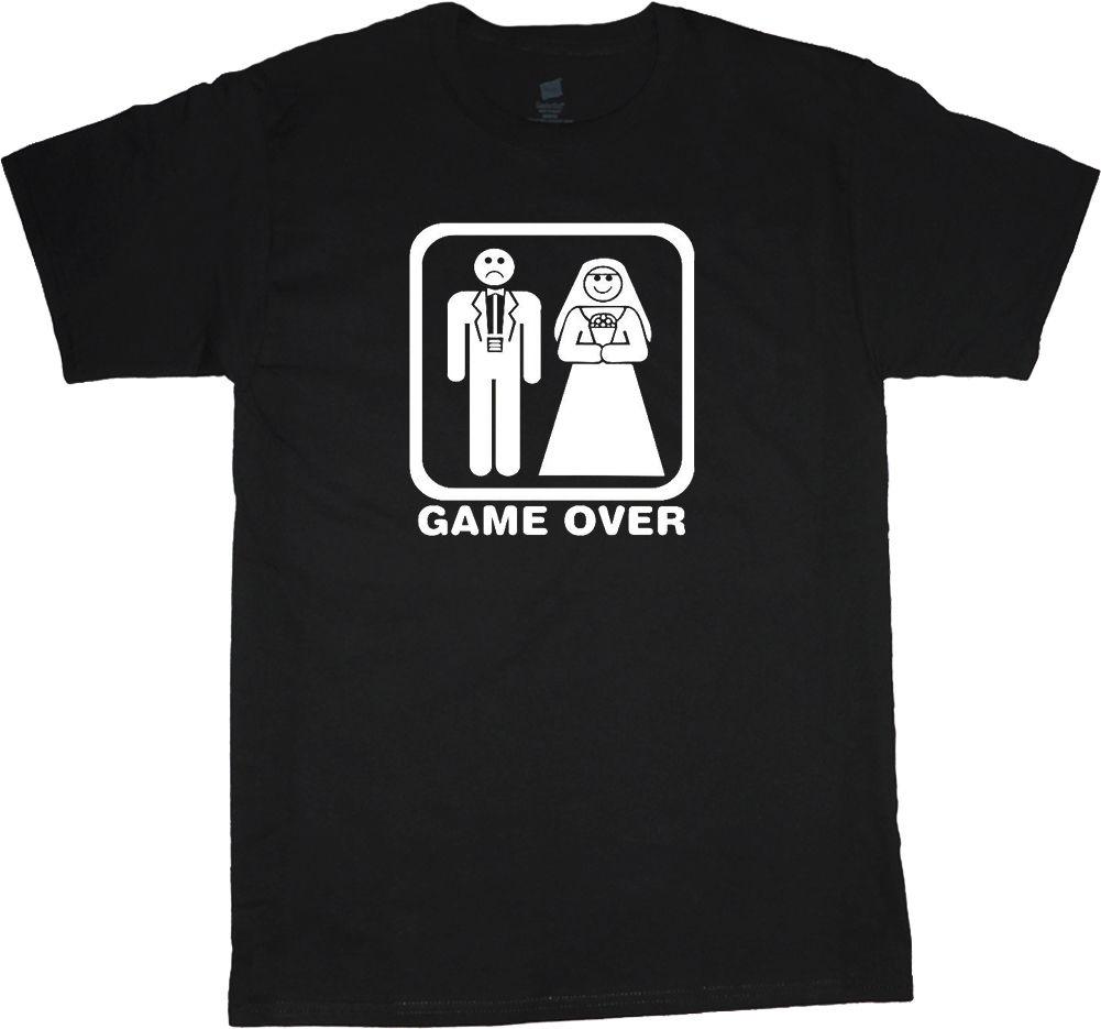 Gildan Funny Bride And Groom T Shirt Wedding Dress Tuxedo