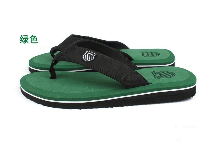Flip Flops Men's Casual Summer Sandals Slippers Leisure Tide Beckham Beach Pinch Flip-flops  -  Buyworld Store store