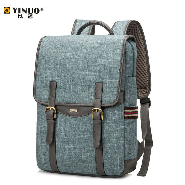 68e92eba76e9db YINUO Laptop Bag 14 Inch 13 Inch Laptop Bag for Women Men 15.6 Inch Laptop  Waterproof Shoulder Backpack for Student