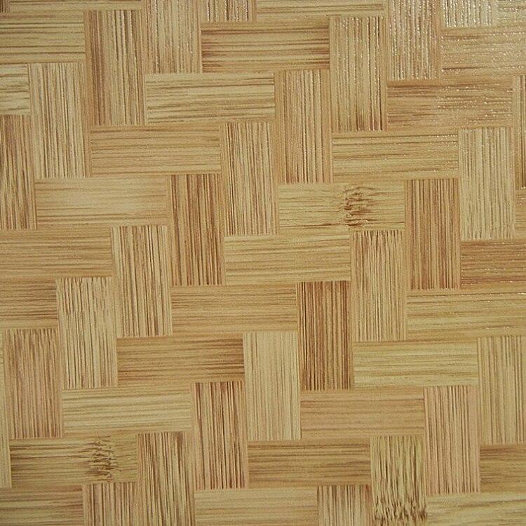 L 39 environnement naturel pvc papier peint imitation bambou for Revetement mural bambou