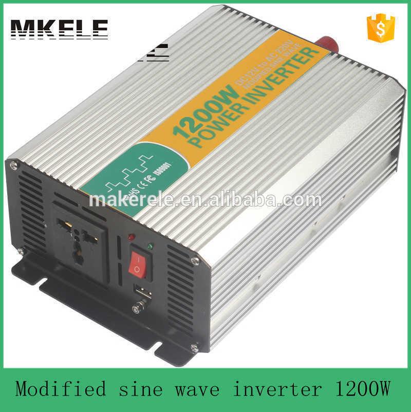 Подробнее о MKM1200-122G modified sine wave van power inverter power converter power 1200Watt 12vdc to 220/230/240vac off-grid type 1200w 12v to 220v modified sine wave van power inverter power converter power 1200watt off grid type