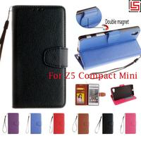PU Leather Flip Filp Wallet Walet Stand Phone Case Caso Etui Cover For Sony Xperia Experia