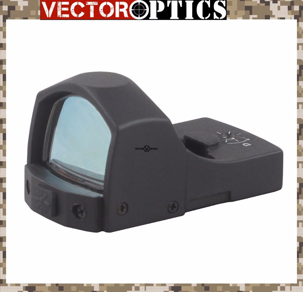 Vector Optics Sphinx 1x22 Mini Micro Reflex Green Dot Scope / Weapon Illuminated Dot Sight / Fit for 12ga 223 Real Fire Caliber vector optics sphinx 1x22 mini reflex compact green dot sight scope very light with 20mm weaver mount base