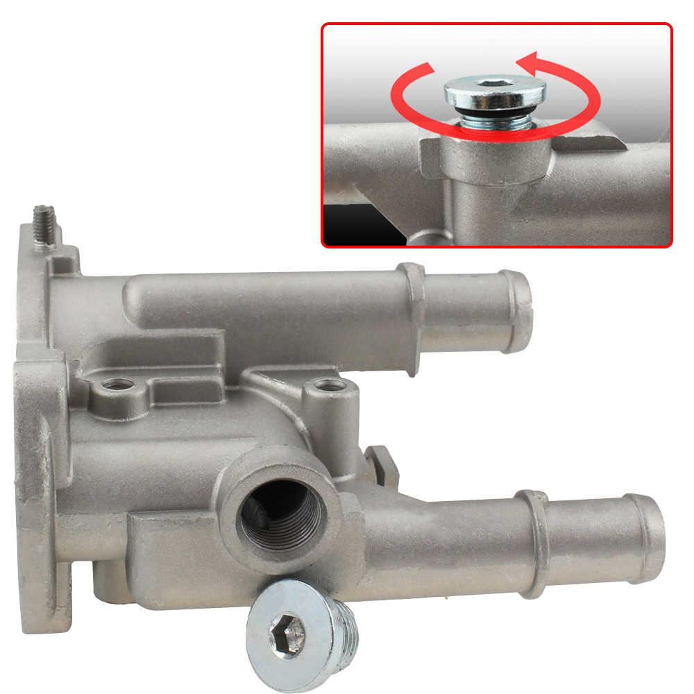 Couvercle de boîtier de Thermostat en aluminium pour Chevrolet Chevy Cruze Aveo Orlando pour Opel Astra Zafira Signum Moka 96984103 96817255