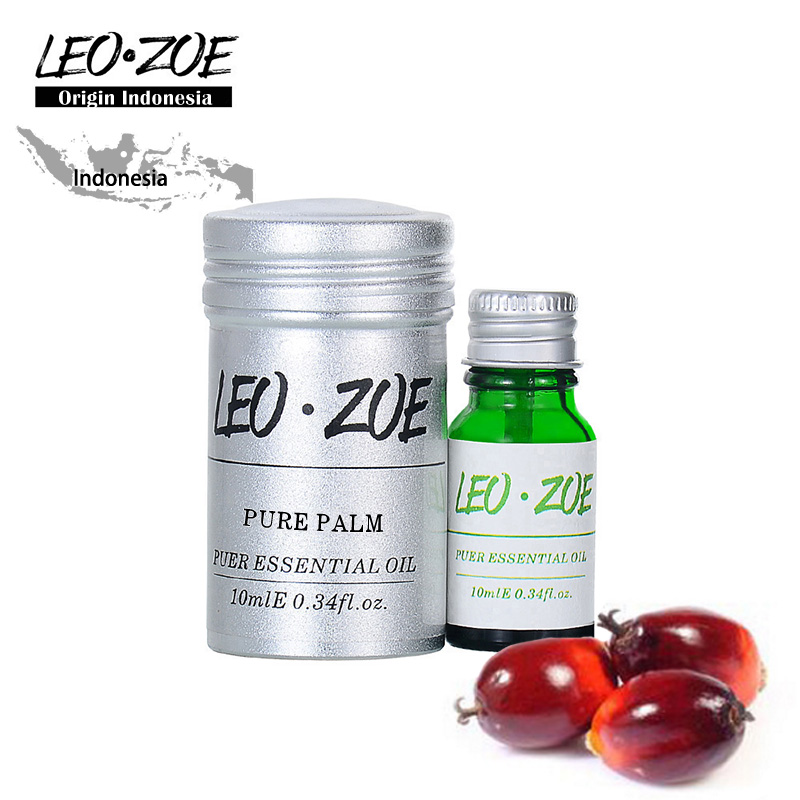 Well-Known Brand LEOZOE Pure Palm Oil Certificate Of Origin Indonesia Authentication High Quality Palm Essential Oil 100M well known brand leozoe clary sage essential oil certificate of origin russia high quality aromatherapy clary sage oil 30ml