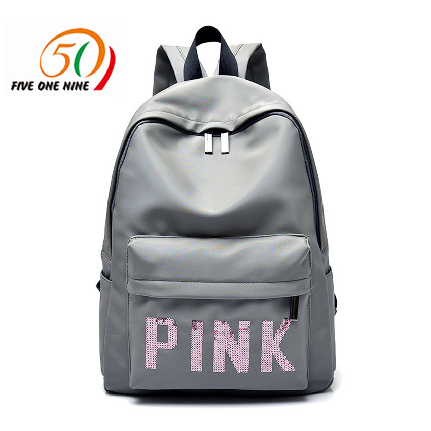 BACKPACK, Letter, Shoulder, Colors, Zipper, Holiday