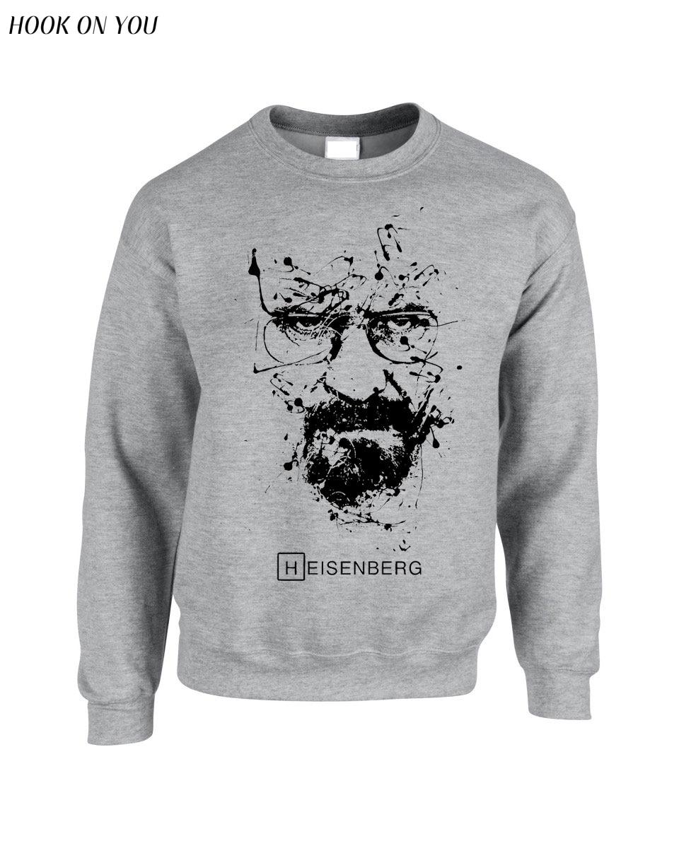 Breaking Bad harajuku hoodies Heisenberg Men sweatshirt tracksuit 2017 New autumn Fashion