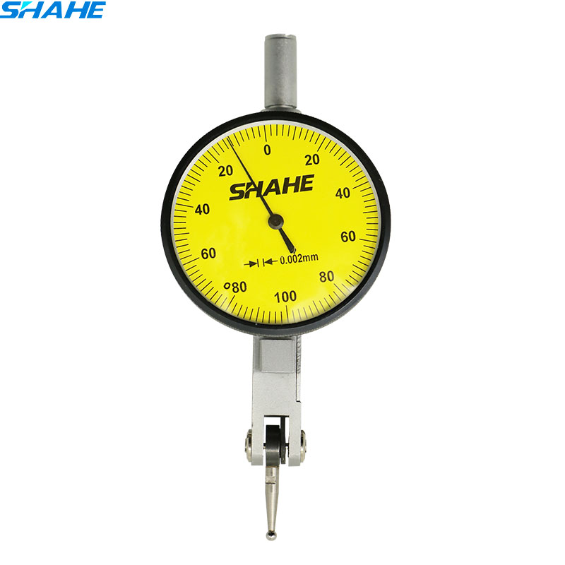 0-0.2mm 0.002mm  Lever shahe dial test indicator  precision  dial indicator Precision Metric Dovetail Rails dial test  indicator