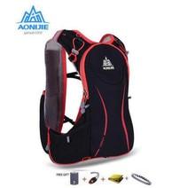 AONIJIE Men Women Outdoor Sport Running 5L Backpack Marathon Hydration Vest Pack For 1.5L Water Bag Cycling Hiking Bag