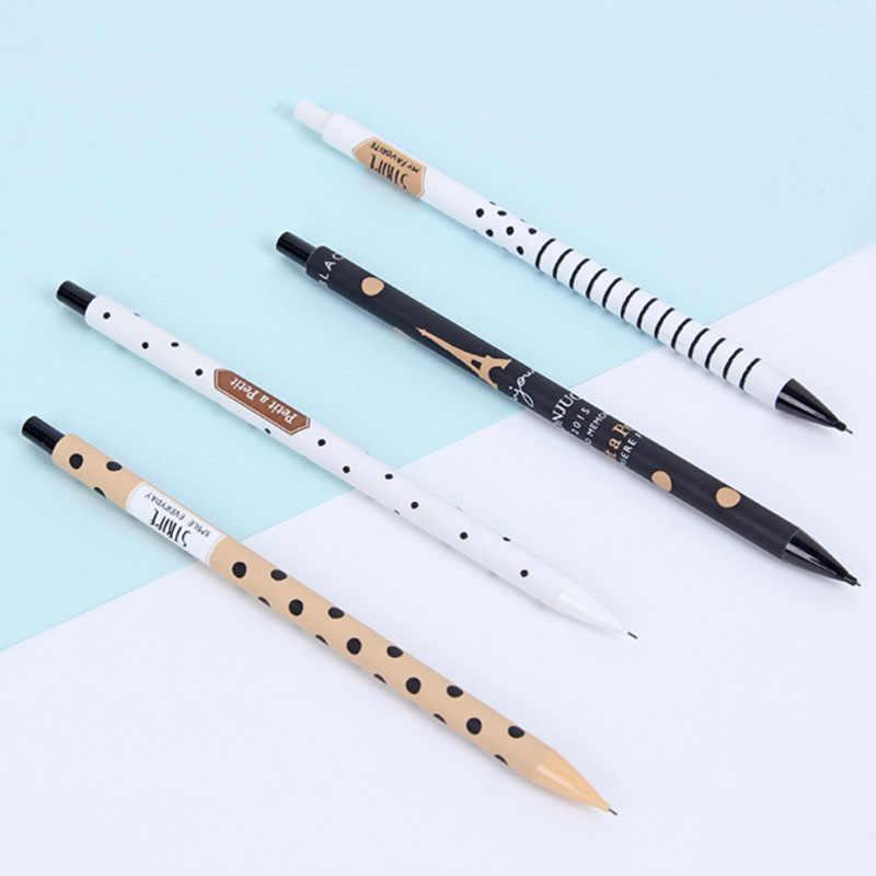 1 Pcs Nette Kawaii Streifen 0,5mm Mechanische Bleistifte Schreiben Schule Büro Liefert Zubehör Schreibwaren