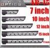 Tactical AR 15 M4 M LOK KeyMod 7 10 12 15 17 Inch Slim Free Float