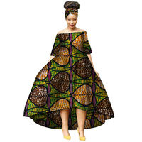 African Dresses for Women African Print Clothing Long Dresses Bazin Riche Robe Africaine Dashiki Clothes