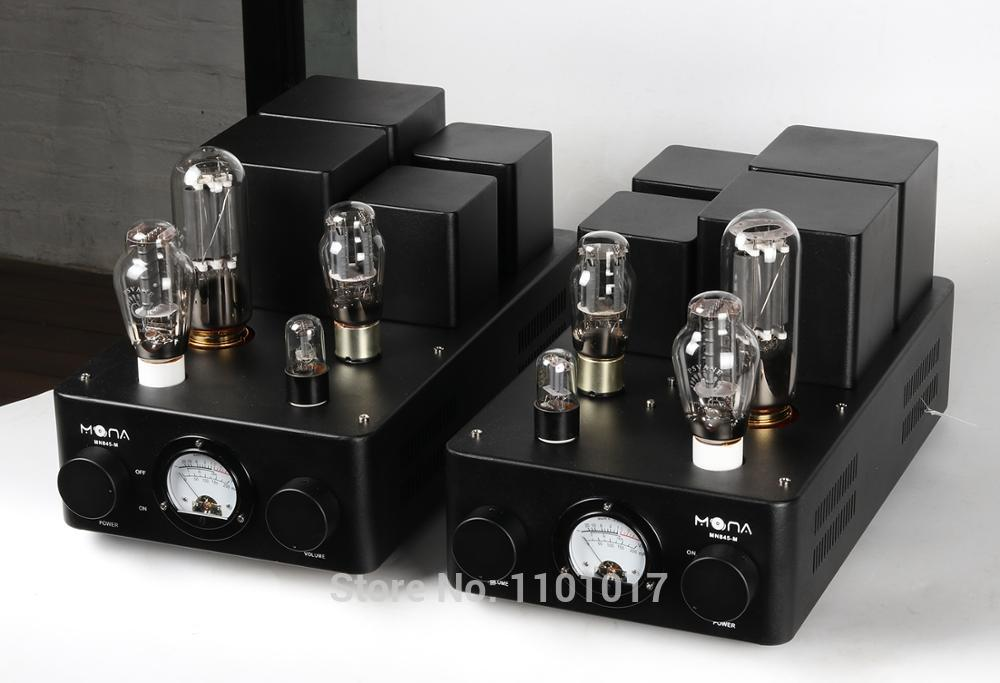 Himing Mona Monoblock 845 tube amplifier with 300B driver HIFI EXQUIS Class A mono block amp RH845300M for Pair meixing mingda mc845 c st monoblock pure power tube amplifier hifi exquis 300b push 845 class a lamp amp standard version