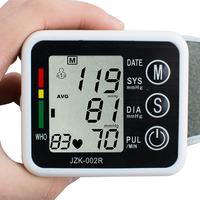 Digital Large LCD Automatic Arm Electronic Blood Pressure Monitor English Voice Arm Monitor