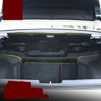 car styling Car trunk noise insulation cotton for honda civic 2015 2016 2017 2018 10th generation