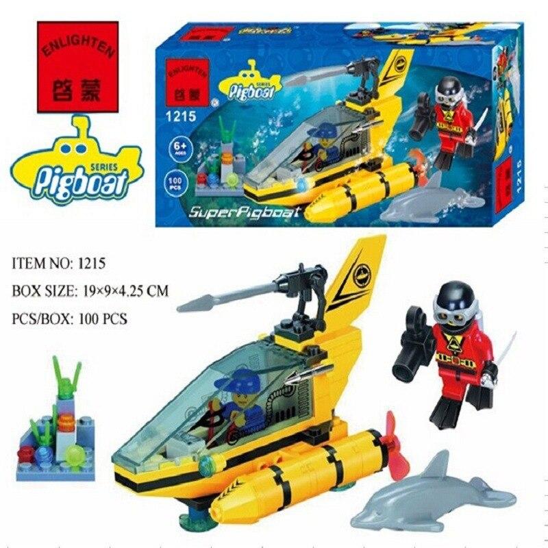 1215 100pcs Vehicle Constructor Model Kit Blocks Compatible LEGO Bricks Toys for Boys Girls Children Modeling