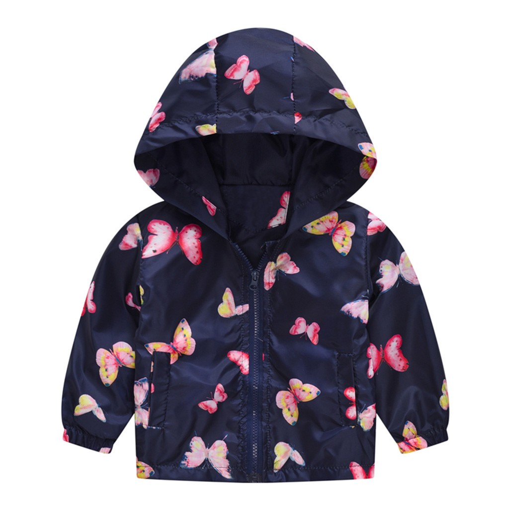Toddler Kids Baby Girls Clothes Faux Fur Camouflage Hooded Coat Jacket Outwear