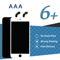 20pcs Grade AAA For IPhone 6 Plus Touch Screen Black White Display Digitizer Assembly Phone Pantalla