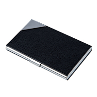 5pack Business Card Credit Card Holder Black