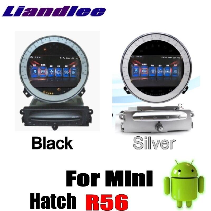 Pour Mini trappe R56 2006 ~ 2013 Liandlee voiture multimédia NAVI CarPlay adaptateur Android pas de lecteur DVD autoradio GPS carte Navigation