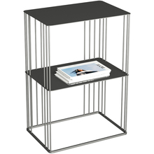 Simple wrought iron double-layer corner several coffee table creative sofa side small apartment storage rack bedside table lk1666 bedside lockers simple modern storage rack with drawers cheap assembly nightstand european corner cabinets
