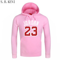 2018 Autumn Women Men S Casual Players 23 Jordan Print Hedging Hooded Fleece Sweatshirt Hoodies Pullover