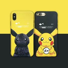 New Japan Cute Cartoon Anime Animal Phone Cover Case For Iphone X Xs Max Xr 10 8 7 6 6s Plus Luxury Soft Silicone Coque Fundas
