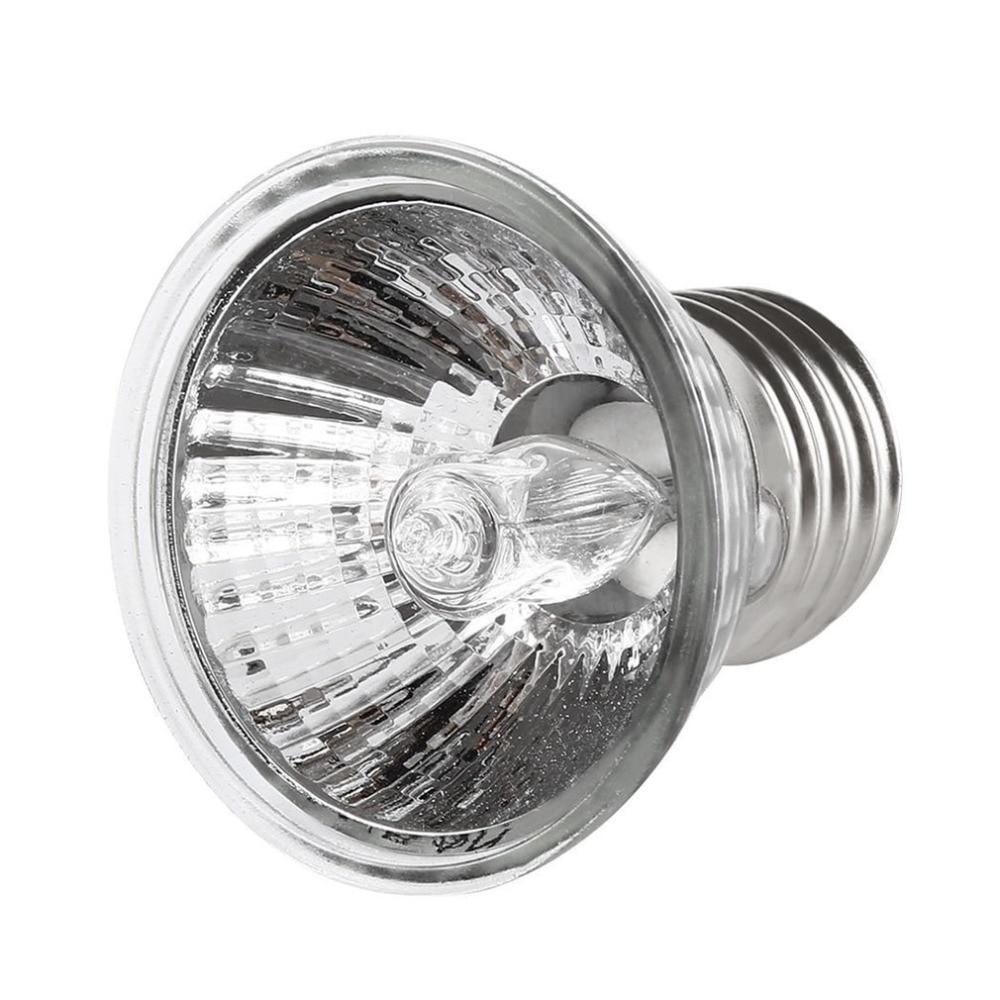 2018 New 25W 50W 75W Turtle Basking UV Light E27 Amphibians Lizards Heating Lamp Portable Full Spectrum Reptile Lamp