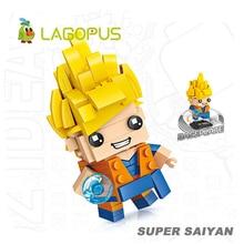 Lagopus Blocks Cartoon Figure Mini Building Toys for Children Stitch Educational Hobbies Gift Kids