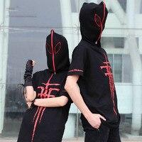 Moda FFF Engizisyon Mihnah T-shirt Için Baka Tesuto Shokanjuu Için Cosplay Kostüm Erkekler/Kadınlar Karikatür Hoodie Tee Gömlek T-shirt H
