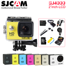 Original SJCAM SJ4000 Action Video Camera 30M Waterproof Diving SJ CAM 4000 Diving Sports DV 1080P Full HD Mini Helmet Camcorder