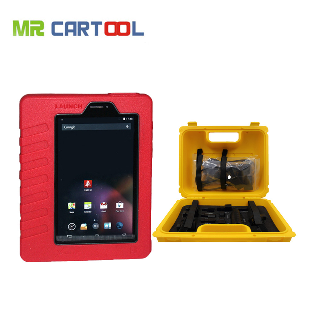 100% Original Launch X431 5C (Full Set) Wifi / Bluetooth Table Diagnostic Tool Function As LAUNCH X431 V (Pro) все цены