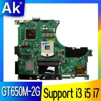 AK N56VZ/N56VM Laptop motherboard for ASUS N56VB N56VM N56VZ N56VJ N56V Test original mainboard GT650M 2G Support i3 i5 i7