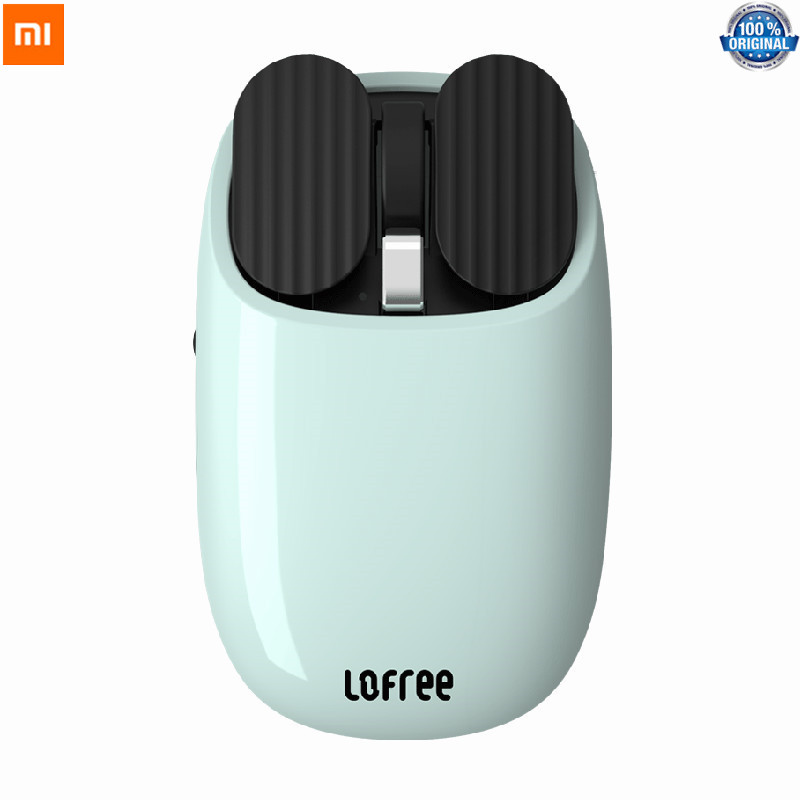 Xiaomi Youpin LOFREE Bluetooth Wireless Mouse 2 4G Bluetooth Dual Mode Connection Gesture Game Office Computer