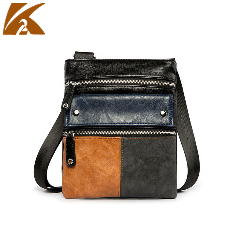 KVKY моды Crossbody сумки для Для мужчин 2018 известных брендов дизайнеров человек Курьерские сумки мужские Повседневное Бизнес дорожная сумка